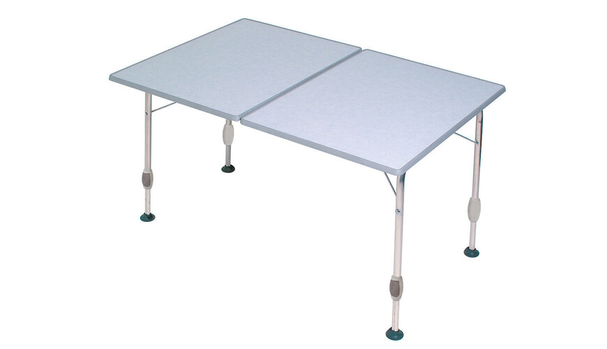 Dukdalf Table Fantastic - Table de camping - Modell Twin blanc